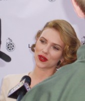 Scarlett Johansson on the red carpet
