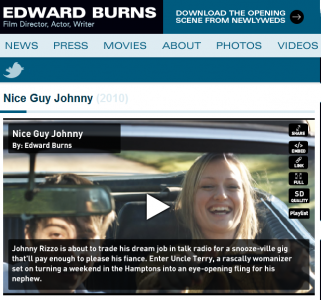 Ed Burns is using Dynamo Player for his film Nice Guy Johnny